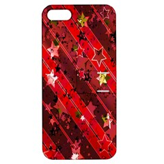 Advent Star Christmas Poinsettia Apple iPhone 5 Hardshell Case with Stand