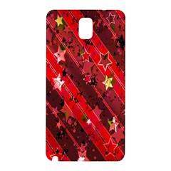 Advent Star Christmas Poinsettia Samsung Galaxy Note 3 N9005 Hardshell Back Case