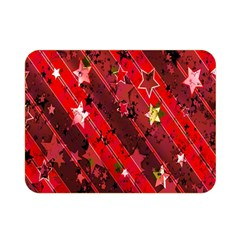 Advent Star Christmas Poinsettia Double Sided Flano Blanket (Mini)