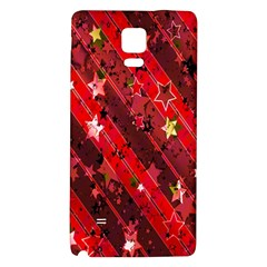 Advent Star Christmas Poinsettia Galaxy Note 4 Back Case