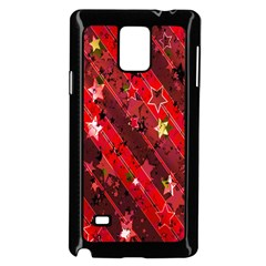 Advent Star Christmas Poinsettia Samsung Galaxy Note 4 Case (black)