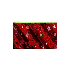 Advent Star Christmas Poinsettia Cosmetic Bag (XS)