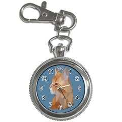 Animals Face Cat Key Chain Watches