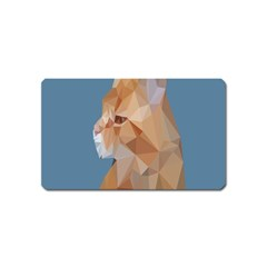 Animals Face Cat Magnet (name Card)