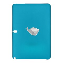 Animals Whale Blue Origami Water Sea Beach Samsung Galaxy Tab Pro 10 1 Hardshell Case