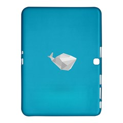 Animals Whale Blue Origami Water Sea Beach Samsung Galaxy Tab 4 (10 1 ) Hardshell Case