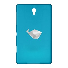Animals Whale Blue Origami Water Sea Beach Samsung Galaxy Tab S (8 4 ) Hardshell Case