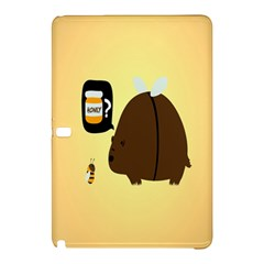 Bear Meet Bee Honey Animals Yellow Brown Samsung Galaxy Tab Pro 12 2 Hardshell Case
