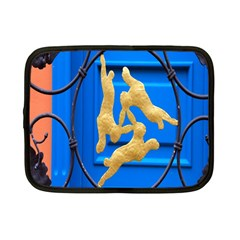 Animal Hare Window Gold Netbook Case (small)