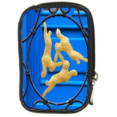 Animal Hare Window Gold Compact Camera Cases