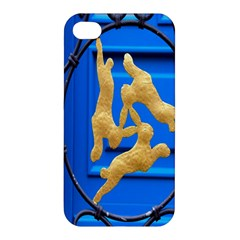 Animal Hare Window Gold Apple iPhone 4/4S Premium Hardshell Case