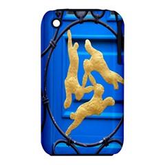 Animal Hare Window Gold Iphone 3s/3gs