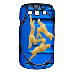 Animal Hare Window Gold Samsung Galaxy S III Classic Hardshell Case (PC+Silicone)