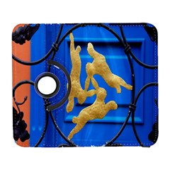 Animal Hare Window Gold Galaxy S3 (Flip/Folio)