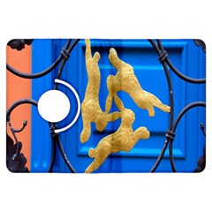Animal Hare Window Gold Kindle Fire HDX Flip 360 Case