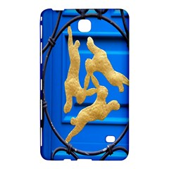 Animal Hare Window Gold Samsung Galaxy Tab 4 (7 ) Hardshell Case