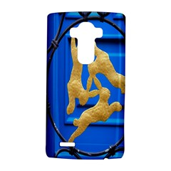 Animal Hare Window Gold LG G4 Hardshell Case
