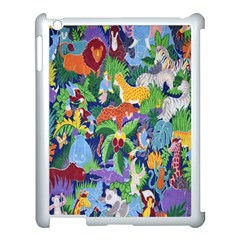 Animated Safari Animals Background Apple Ipad 3/4 Case (white)