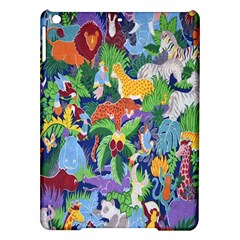 Animated Safari Animals Background Ipad Air Hardshell Cases