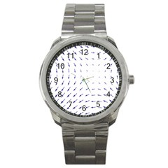 Arrows Blue Sport Metal Watch