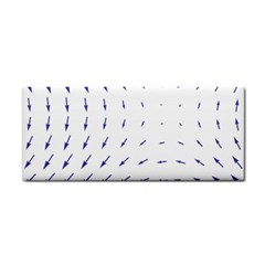 Arrows Blue Cosmetic Storage Cases