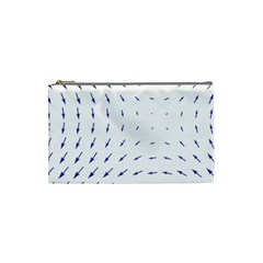 Arrows Blue Cosmetic Bag (small)