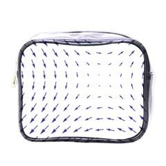Arrows Blue Mini Toiletries Bags