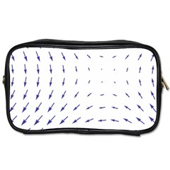 Arrows Blue Toiletries Bags