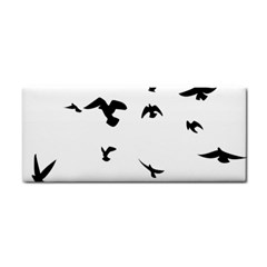 Bird Fly Black Cosmetic Storage Cases