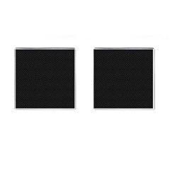 Black Diamonds Metropolitan Cufflinks (square)