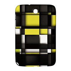 Color Geometry Shapes Plaid Yellow Black Samsung Galaxy Note 8 0 N5100 Hardshell Case