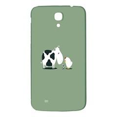 Cow Chicken Eggs Breeding Mixing Dominance Grey Animals Samsung Galaxy Mega I9200 Hardshell Back Case