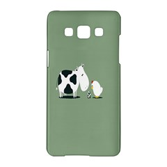 Cow Chicken Eggs Breeding Mixing Dominance Grey Animals Samsung Galaxy A5 Hardshell Case