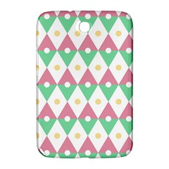 Diamond Green Circle Yellow Chevron Wave Samsung Galaxy Note 8 0 N5100 Hardshell Case