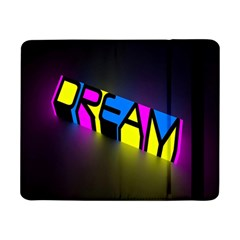 Dream Colors Neon Bright Words Letters Motivational Inspiration Text Statement Samsung Galaxy Tab Pro 8 4  Flip Case