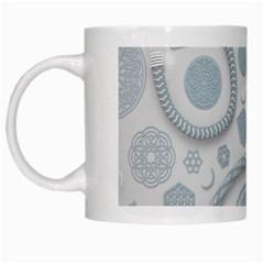 Eguipment Grey White Mugs