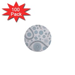 Eguipment Grey 1  Mini Buttons (100 pack)