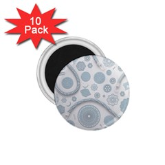 Eguipment Grey 1 75  Magnets (10 Pack)