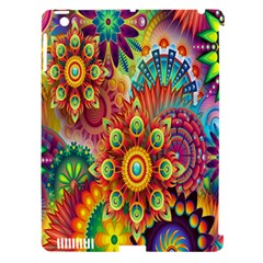 Colorful Abstract Flower Floral Sunflower Rose Star Rainbow Apple Ipad 3/4 Hardshell Case (compatible With Smart Cover)