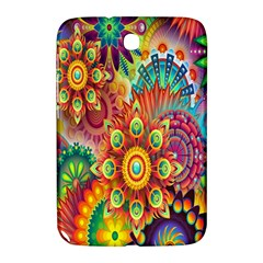 Colorful Abstract Flower Floral Sunflower Rose Star Rainbow Samsung Galaxy Note 8 0 N5100 Hardshell Case