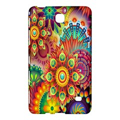 Colorful Abstract Flower Floral Sunflower Rose Star Rainbow Samsung Galaxy Tab 4 (7 ) Hardshell Case