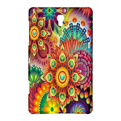 Colorful Abstract Flower Floral Sunflower Rose Star Rainbow Samsung Galaxy Tab S (8 4 ) Hardshell Case