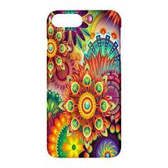 Colorful Abstract Flower Floral Sunflower Rose Star Rainbow Apple Iphone 7 Plus Hardshell Case