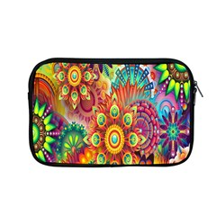 Colorful Abstract Flower Floral Sunflower Rose Star Rainbow Apple Macbook Pro 13  Zipper Case