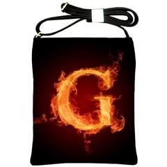 Fire Letterz G Shoulder Sling Bags