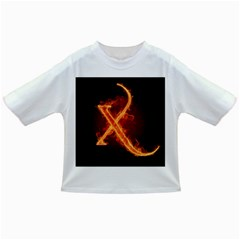 Fire Letterz X Infant/toddler T Shirts