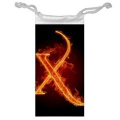 Fire Letterz X Jewelry Bag