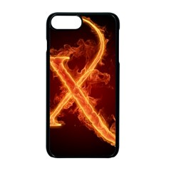 Fire Letterz X Apple Iphone 7 Plus Seamless Case (black)