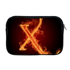 Fire Letterz X Apple Macbook Pro 17  Zipper Case