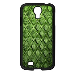 Circle Square Green Stone Samsung Galaxy S4 I9500/ I9505 Case (black)